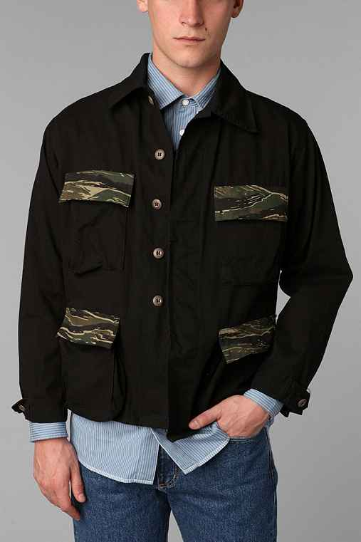 FAIF X Urban Renewal Contrast Army Surplus Jacket