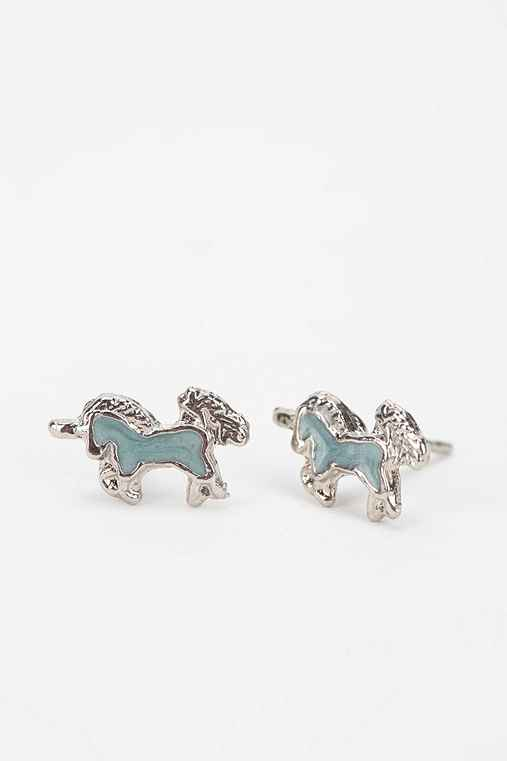 Diament Jewelry For Urban Renewal Unicorn Stud Earring