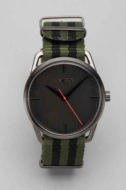 Nixon Mellor Canvas Watch