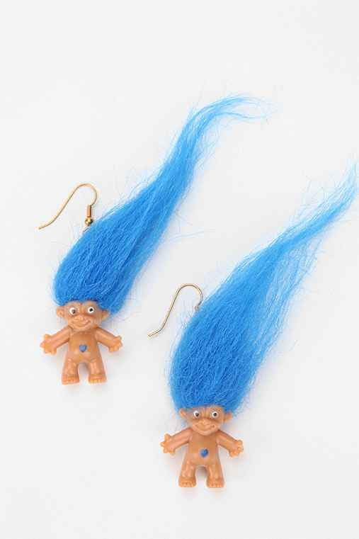 Urban Renewal Treasure Troll Earring
