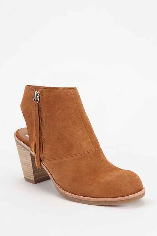 Dolce Vita Jentry Cutout Suede Ankle Boot