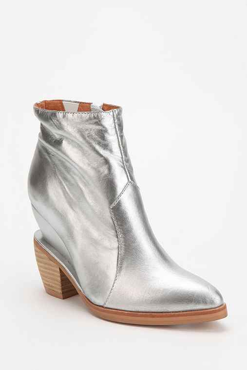 Jeffrey Campbell Vista Heeled Wedge Ankle Boot