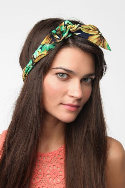 Tropical Flower Headwrap
