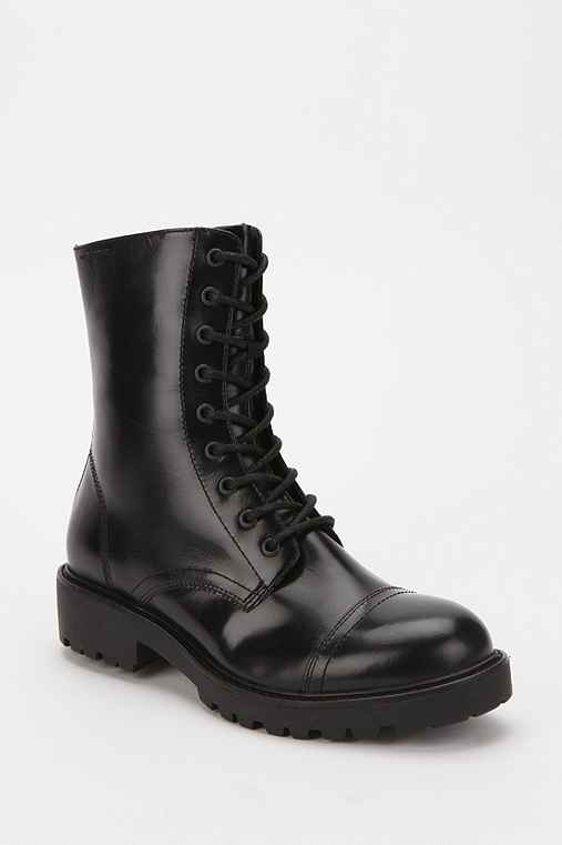 Vagabond Iris Leather Combat Boot