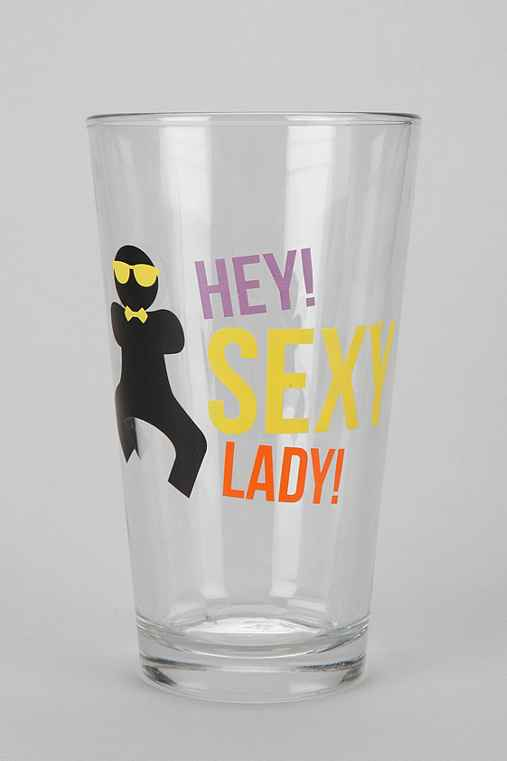 Sexy Lady Pint Glass