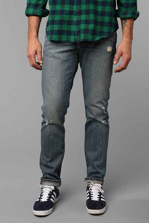 Standard Cloth Slash Skinny Jean