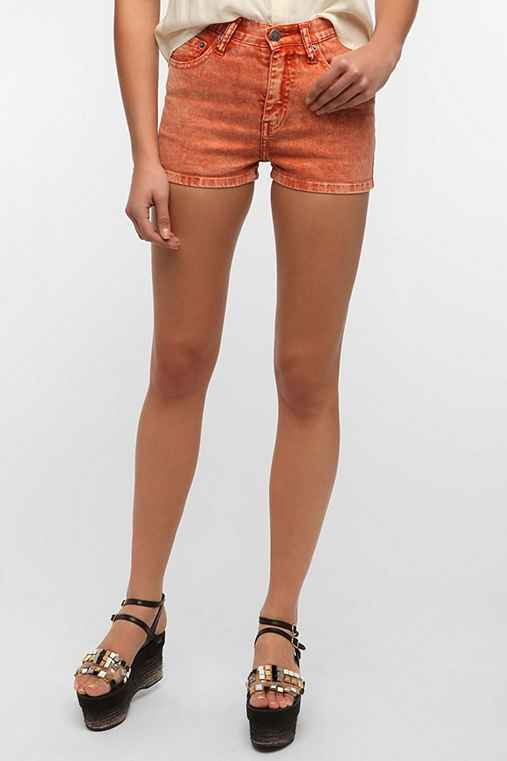 Ziggy Sticks & Bones Denim Acid-Wash Short