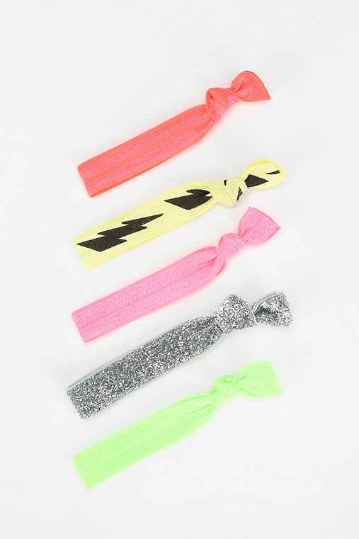 Kitsch Ponytail Holder - Set of 5