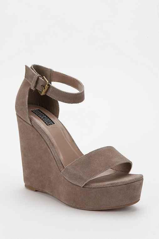 Deena & Ozzy Double-Strap Platform Wedge