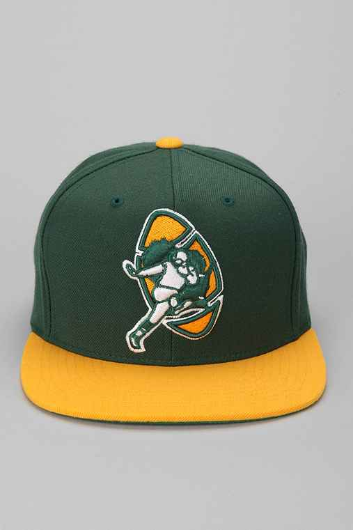 Mitchell & Ness Packers Snapback Hat