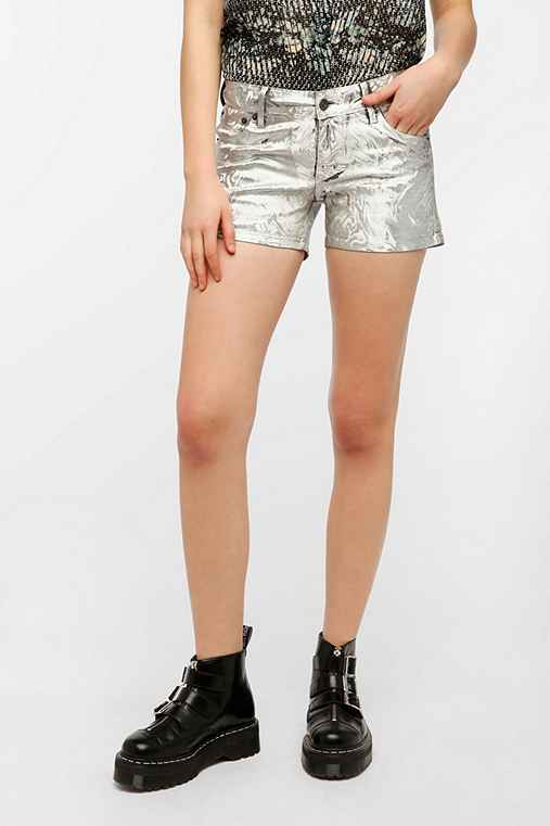 KC By Kill City Holographic Foiled Short
