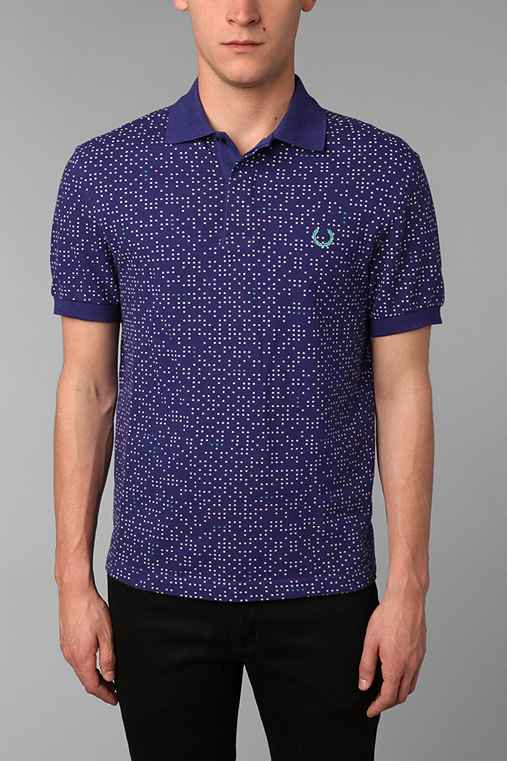 Fred Perry Space Dot Print Shirt
