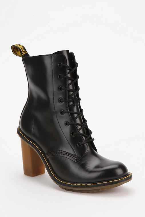 Dr. Martens Sadie Heeled Lace-Up Boot