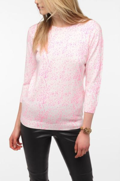 Sparkle & Fade Paint Splatter Sweater
