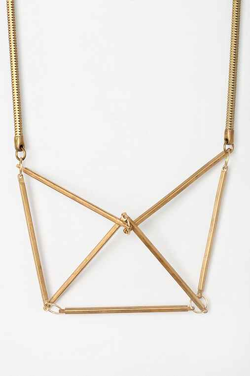 Gabriela Artigas Geometrical Chest Plate Necklace