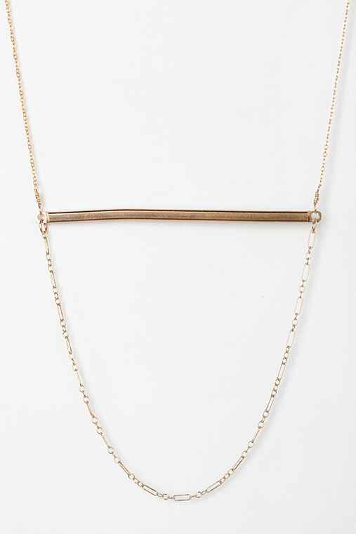 Gabriela Artigas Gold Ingot Necklace