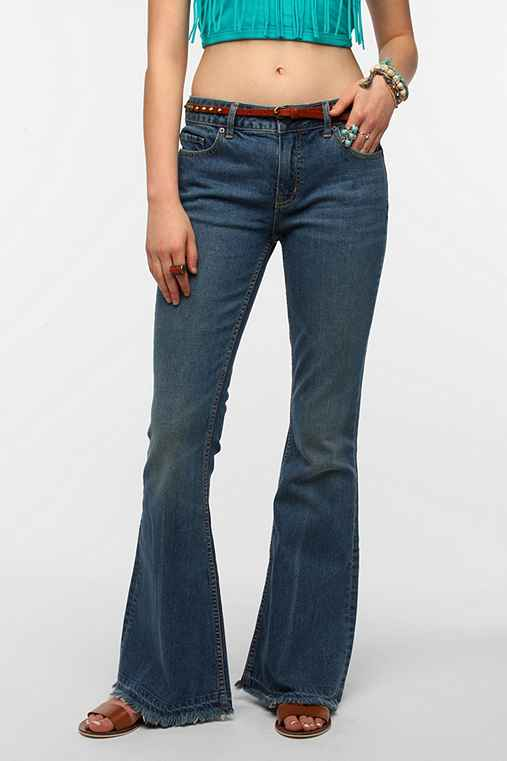 BDG '70s High-Rise Flare Jean: Rinsed Denim 26 W_app_jeans
