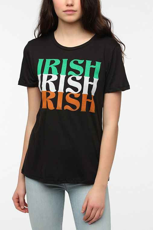 Corner Shop Irish Text Tee