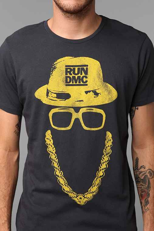 Junk Food Run DMC Gold Tee