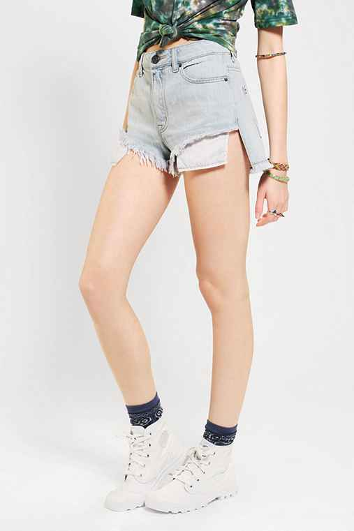 BDG Lou High/Low Denim Short