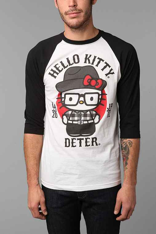 Deter Hello Kitty Raglan Tee