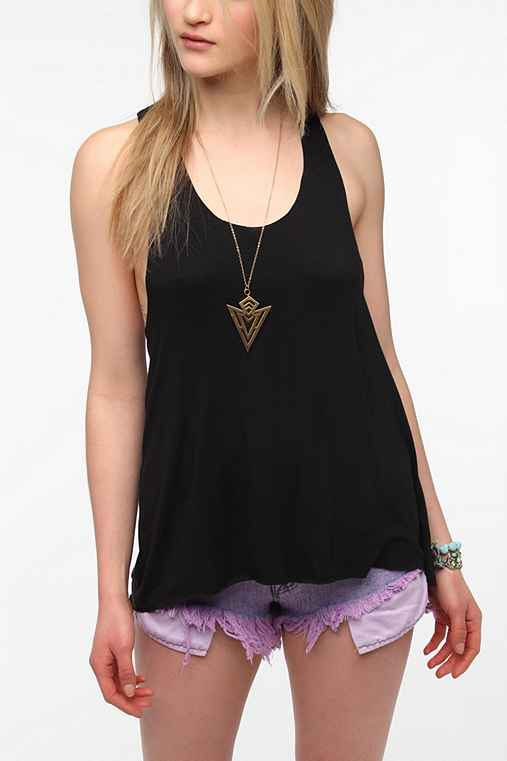 Daydreamer LA Split-Back Tank Top