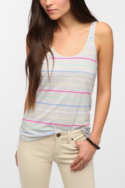 BDG Striped Slub Cami