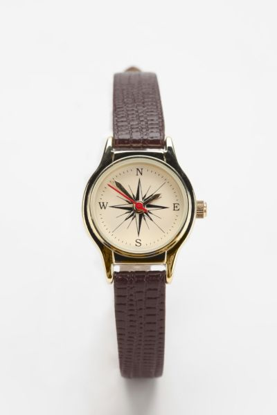 Oversized Compass Watch