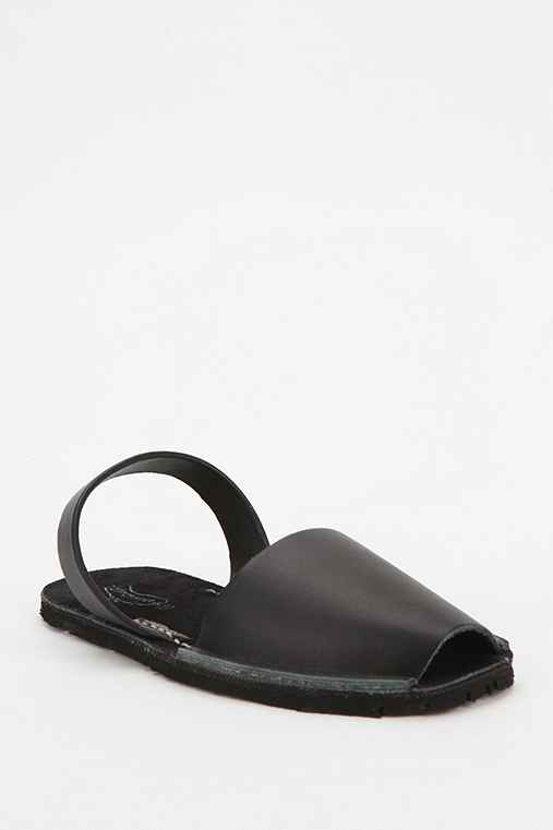 Riudavets Leather Avarca Sandal