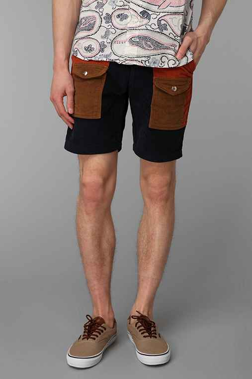 Monitaly Mixed Corduroy Camp Short
