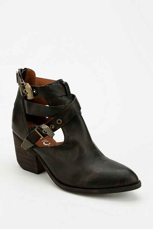 jeffrey cbell everwell western cut out ankle black