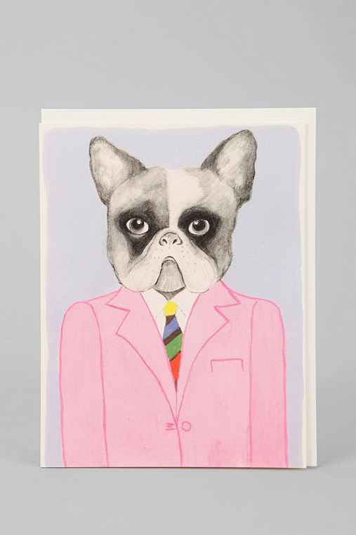 Dog Suit Card