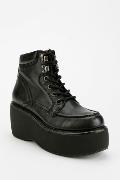 Vagabond Juliette High-Top Platform Wedge-Sneaker