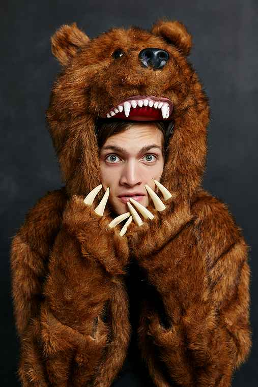 Workaholics Bear Coat Urban Outfitters