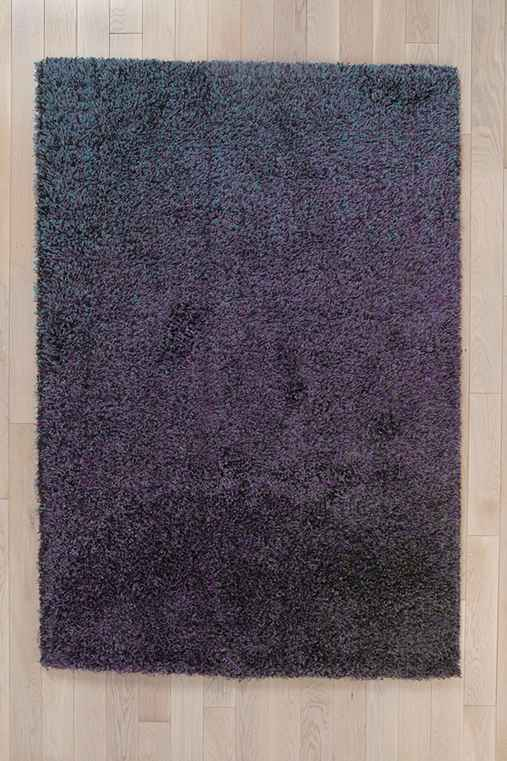 Midnight Shag Rug