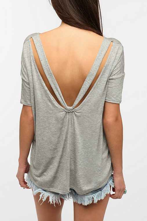 Daydreamer LA V-Back Drape Tee