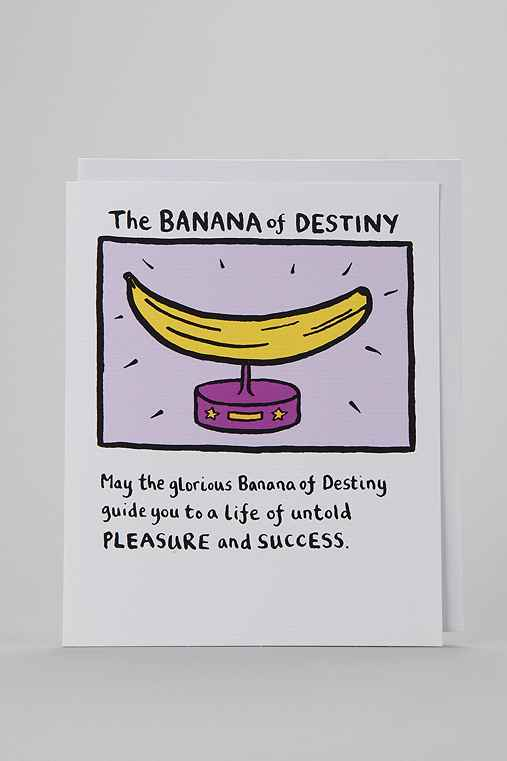 Banana Destiny Card