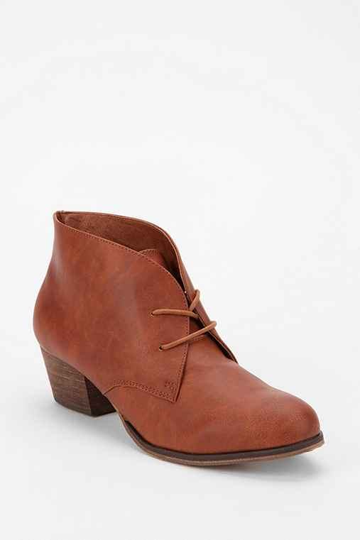 Chelsea Crew Armor Lace-Up Ankle Boot