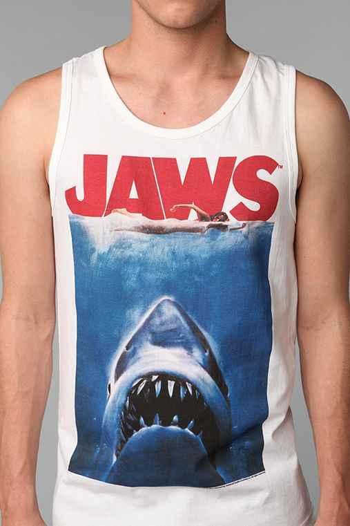 Jaws Poster Tank Top