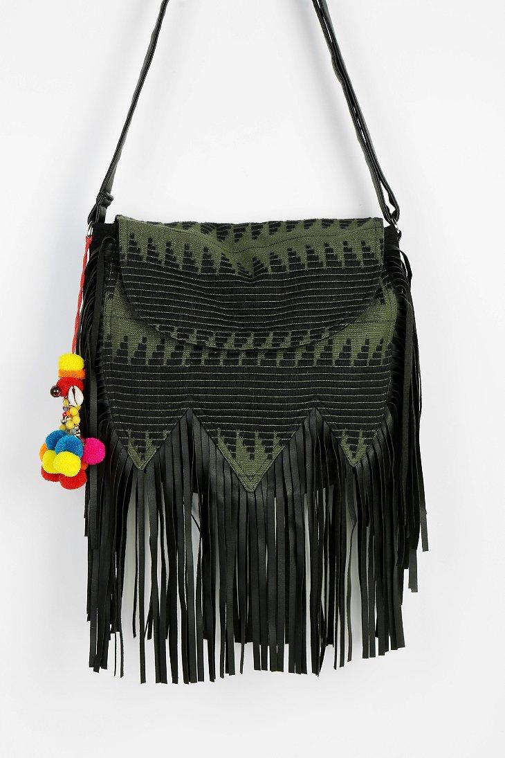 ecote carpet fringe hobo bag outfitters