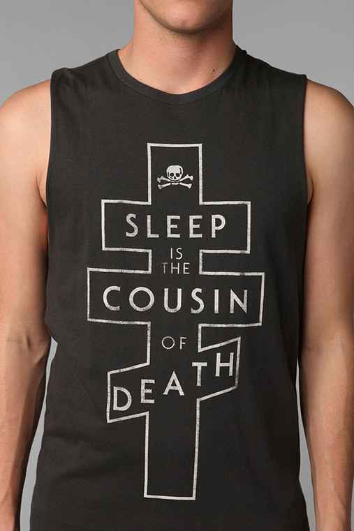 Altru Sleep And Death Muscle Tank Top