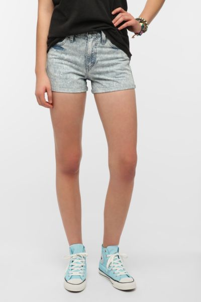 Levi's 646 High-Rise Denim Short