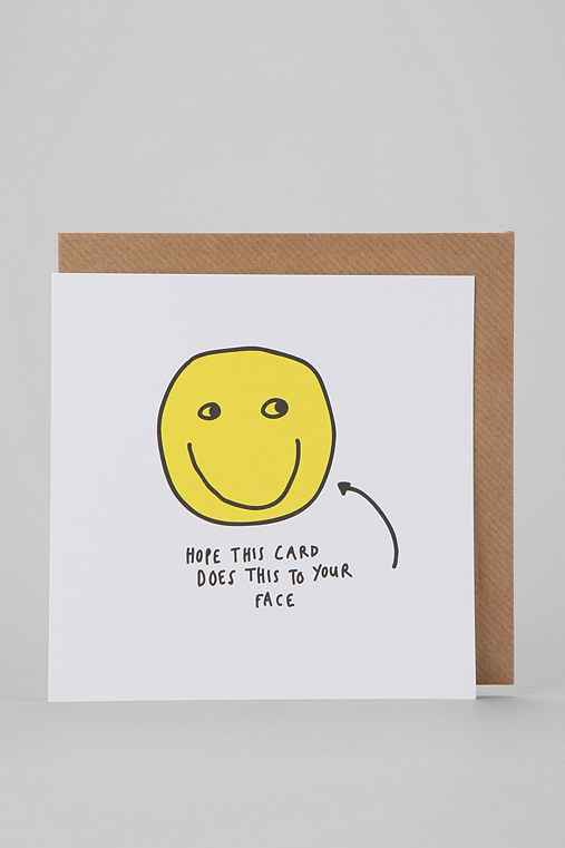 Hope Smiley Face Card