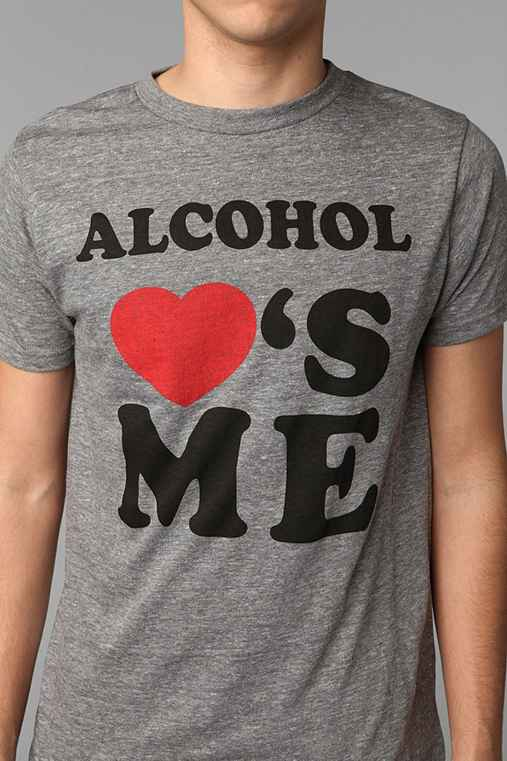 Alcohol Loves Me Tee