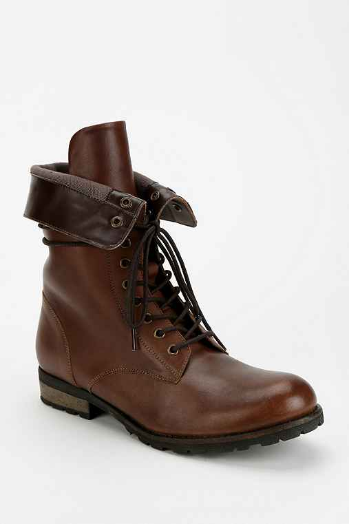 Deena & Ozzy Fold-Over Combat Boot
