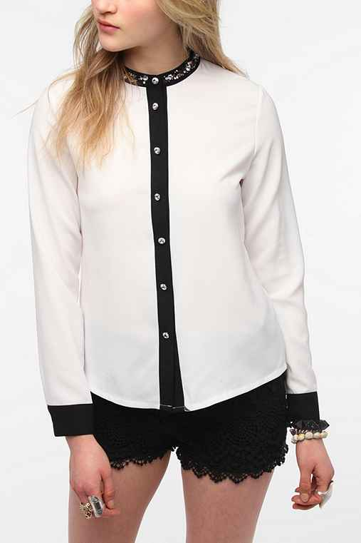 Sister Jane Mao Crystal Blouse