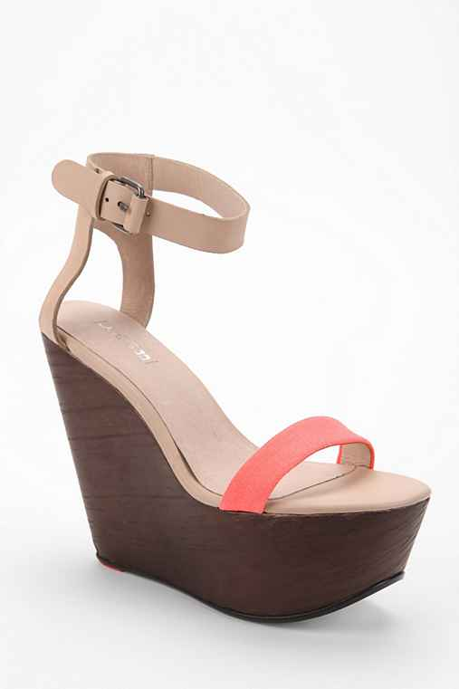 Joe's Jeans Khloe Wooden Platform Wedge