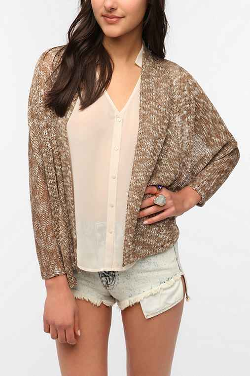Sparkle & Fade Batwing Sleeve Cardigan