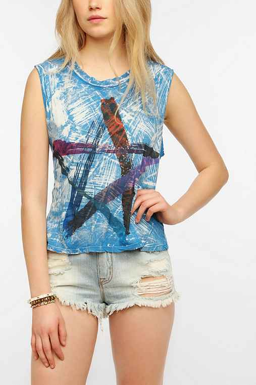 Le Shirt Paint Star Muscle Tee