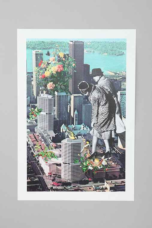 Eugenia Loli For Society6 Jungle City Art Print
